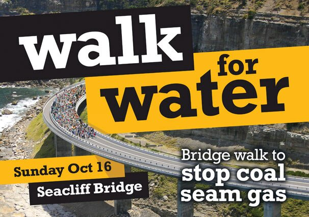 Walk For Water - Sea Cliff Bridge - October 16