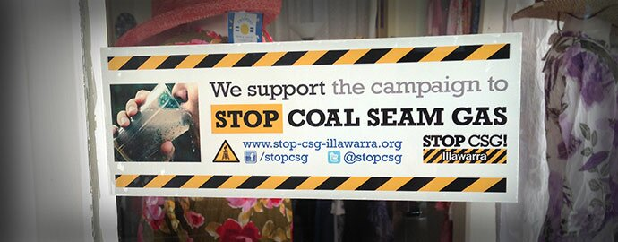 Stop CSG Supporters Sticker