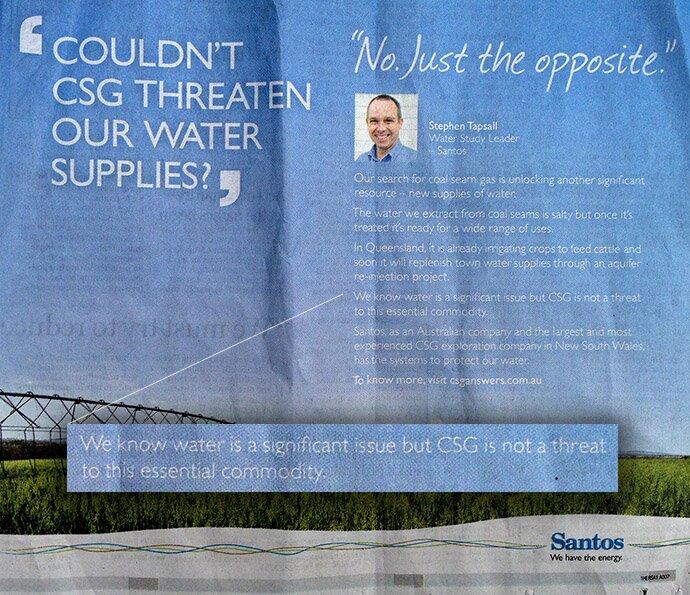 Santos Print Ad